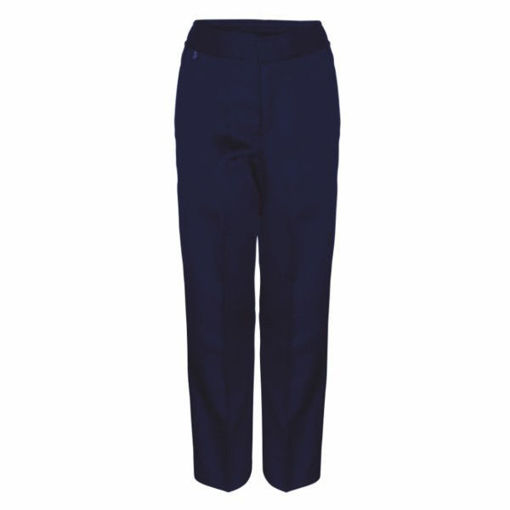 Picture of Standard Fit Boys Navy Trousers