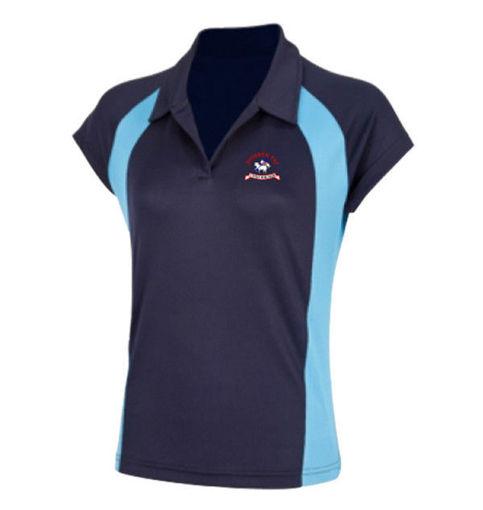 Picture of Dyffryn Taf Girls Sports Polo Shirt