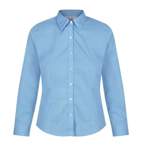 Picture of Trutex Twin Pack Of Blue Girls Blouses