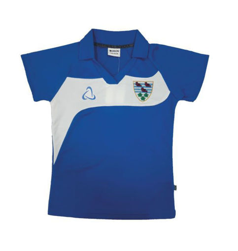 Picture of Greenhill School Girls Sports Polo Shirt