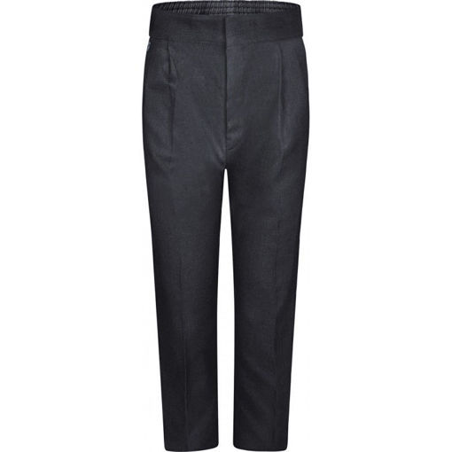 Picture of Standard Fit Boys Charcoal Trousers