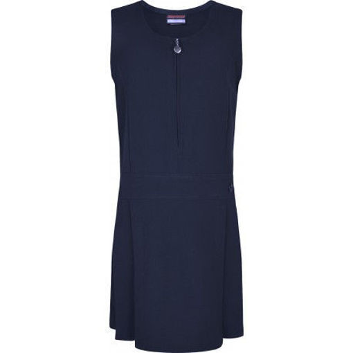 Picture of Junior Stretch Heart Pinafore - Navy